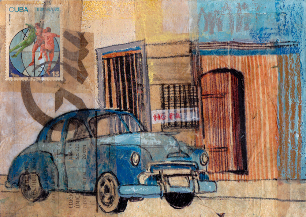 LOST POSTCARD, EL COCHE