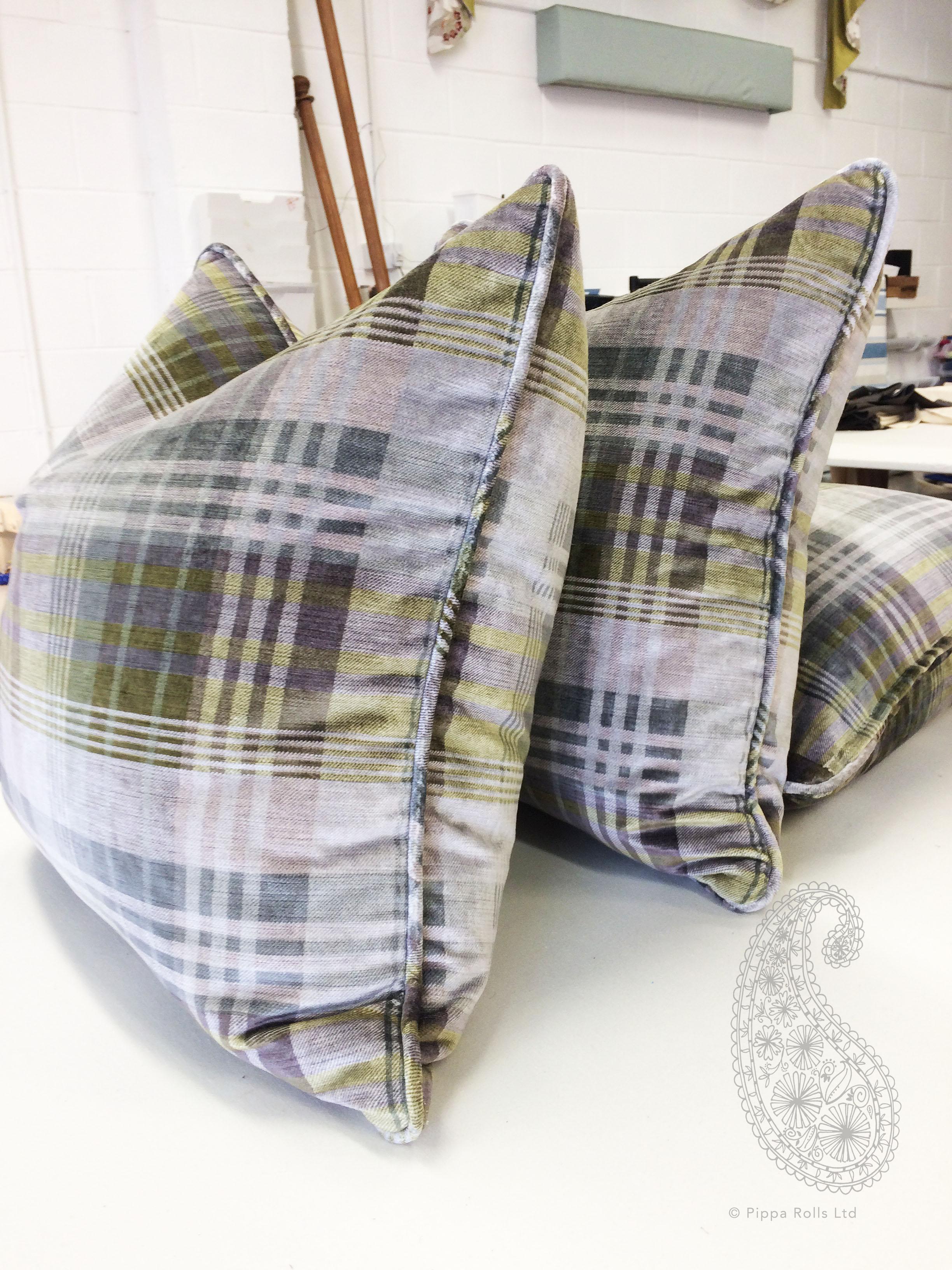 Mulberry cushions tartan velvet Pippa Rolls Limited jpeg.jpg