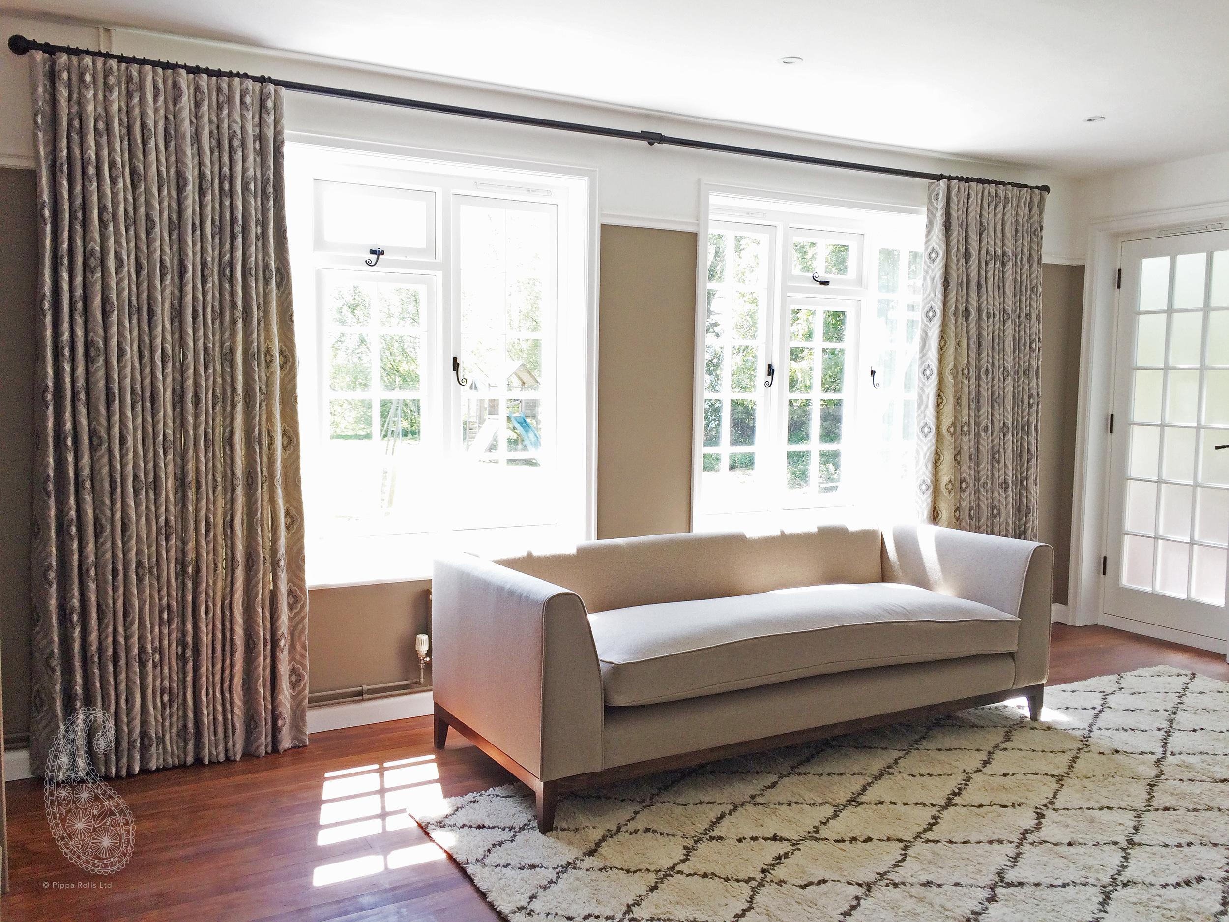 Cartridge pleat curtains for Jojo Humes Brown Pippa Rolls Limited jpeg.jpg