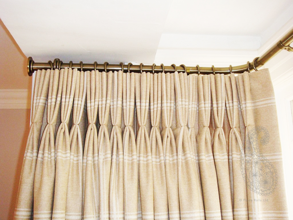 Pinch pleat curtains Colefax & Fowler wool Pippa Rolls Limited jpeg copy.jpg