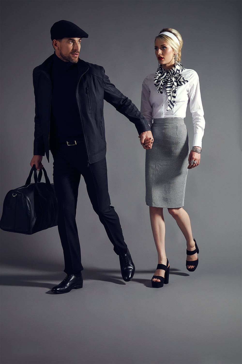 Hawes & Curtis X The Man From U.N.C.L.E / Warner Brothers Films Capsule Collection - Autumn 2015  Concept & Art Director | Casting | Shoot Production | Photography by Melissa Uren