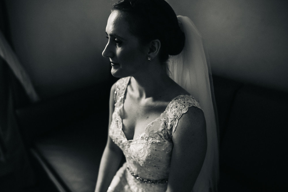 a black and white portrait of the bride. destination wedding hotel monte rosa chiavari italy. stop motion wedding films uk