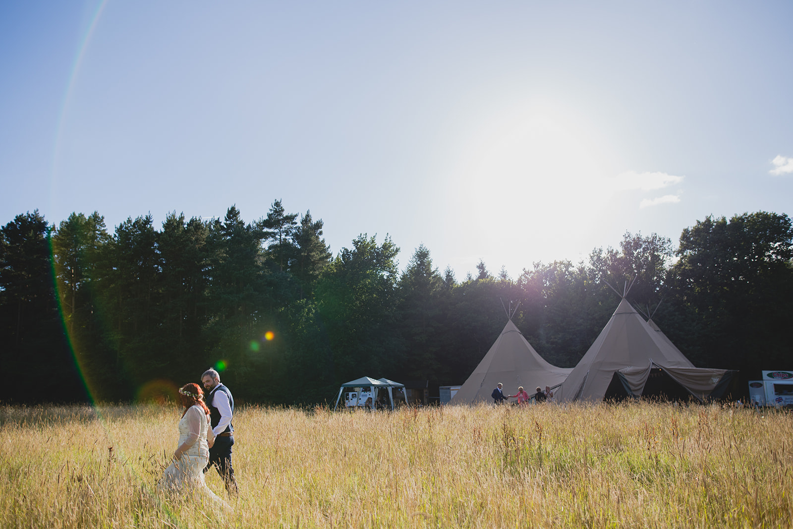 camp katur tipi wedding north yorkshire teesside middlesbrough. creative wedding photography middlesbrough north east north yorkshire. stop motion wedding films uk