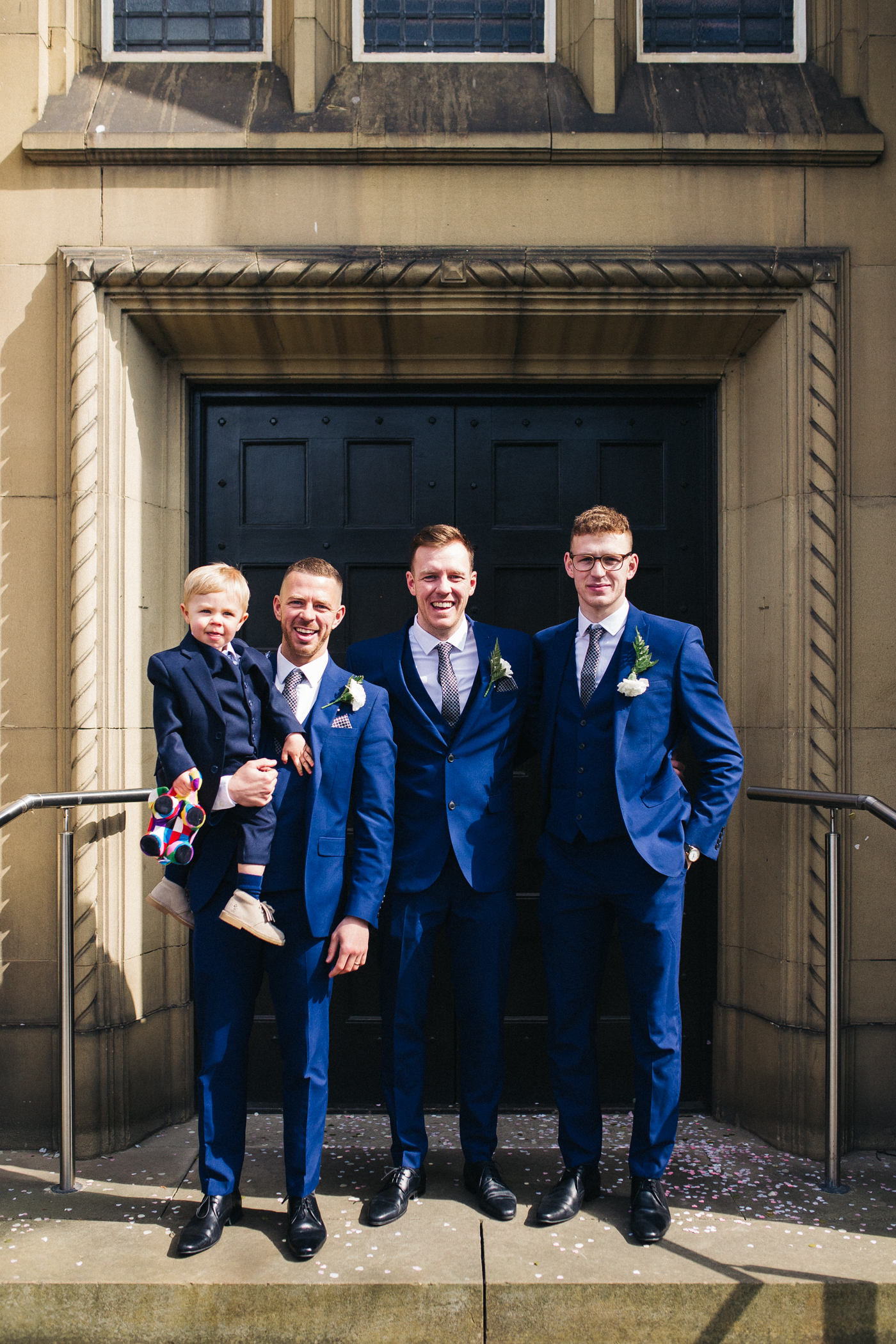 the groom and his brothers, the groomsmen. relaxed teesside middlesbrough wedding photographer, wedding at home