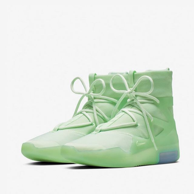 Too bad these Nike Air Fear of God 1s are not coming to Canada. 😩