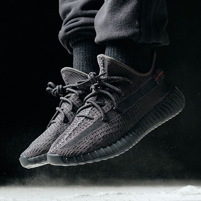 Yeezy 350 V2 Black, who's copping?!