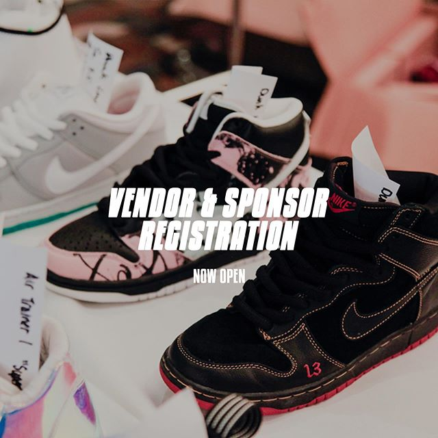 Sponsor and Vendor Registrations are now open. . — Want to show off your collection? Want to sell the sneakers you don't wear any more? Want to grow your business? Want to gain exposure for your brand? Or just want to be a part of SoleGood 6? Look no further! Register today online! Direct link in bio. You can also DM us here, or send us an email at ke@solegood.ca. Very limited spots available, don't sleep! 😴. . — SOLEGOOD.ca #solegood  #solegood6
