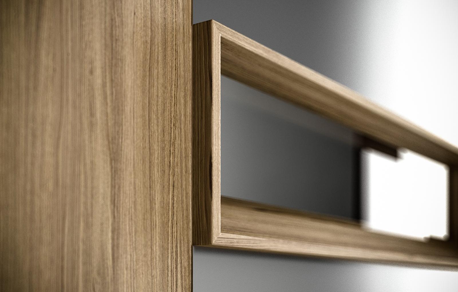 Nextus ™  design inbjuder till spännande möten mellan material. Nextus kan tillverkas i de flesta vanligt förekommande och passande träslag, med eller utan aluminiumbeklädd utsida.