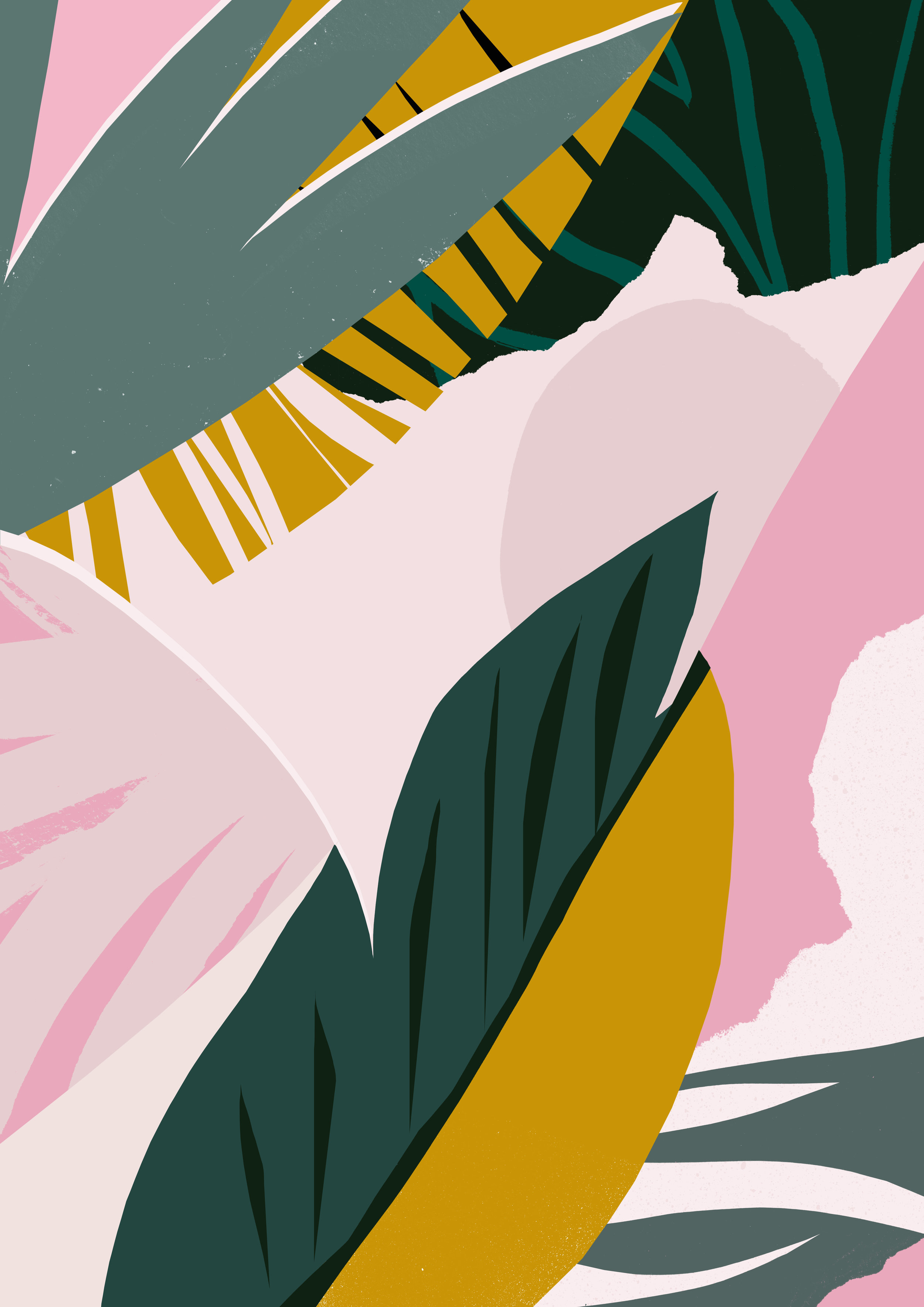 'Shady Palms'  Available to licence.