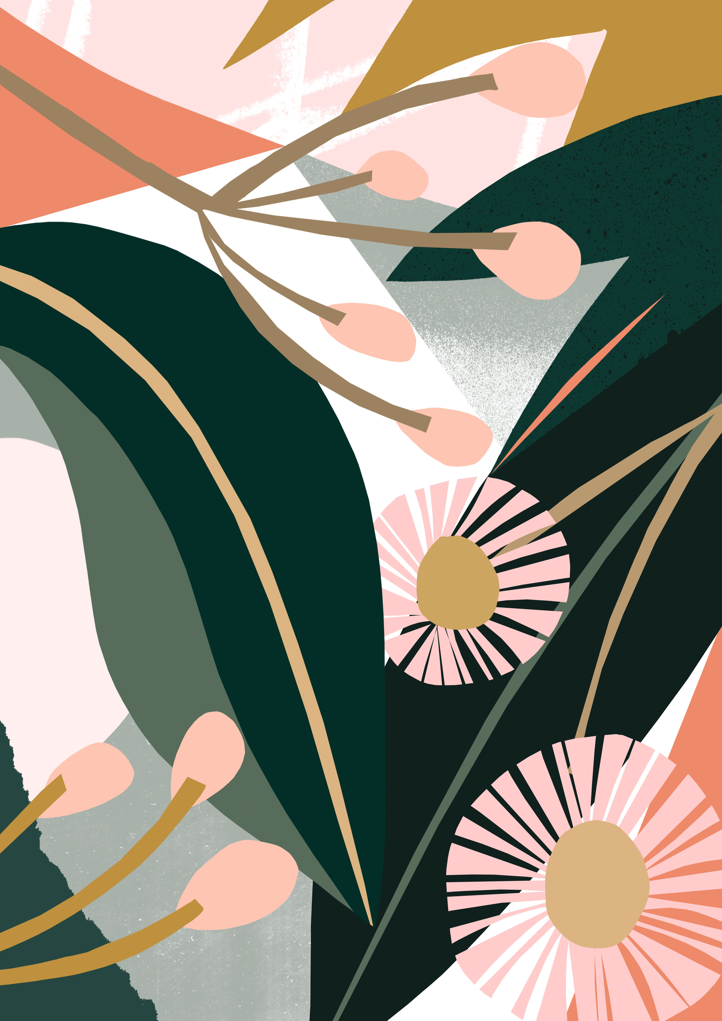 'Eucalyptus Bloom'  Available to licence.