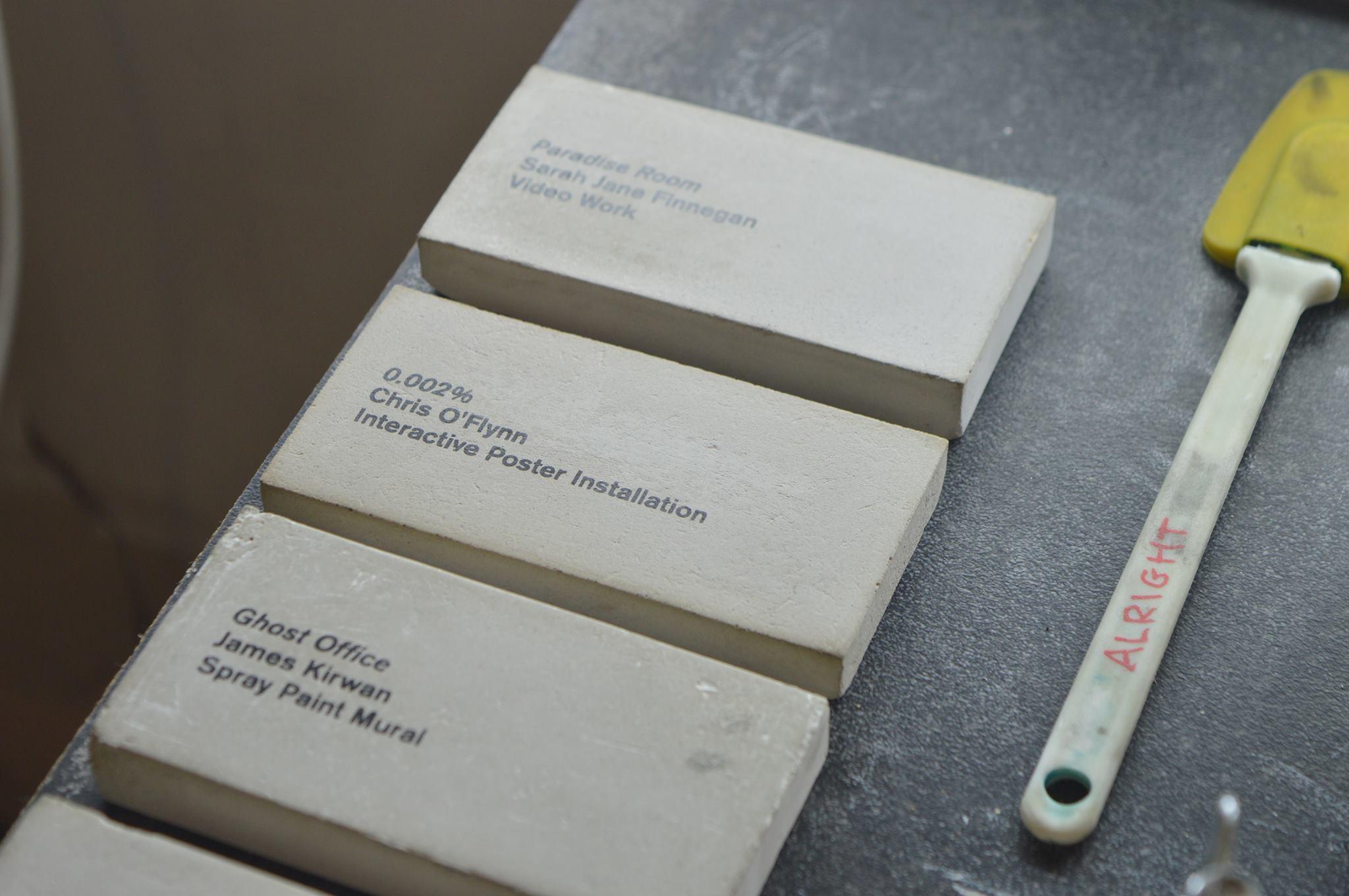 Exhibition Name Plates