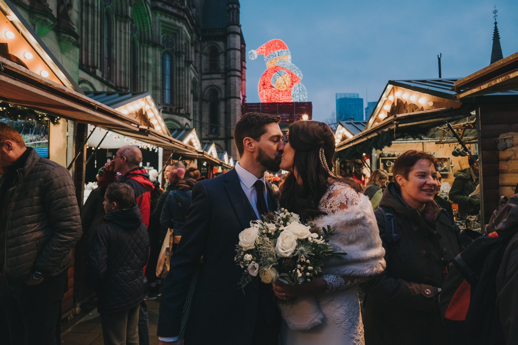 Carina & Rob // Manchester Town Hall & King Street Townhouse