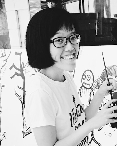 Min Lim is an undergraduate at Yale-NUS College and a freelance graphic designer. She is the winner of the National Poetry Competition 2016. Her manuscript,  Effigy , was selected for the Manuscript Bootcamp 2017 (Poetry).