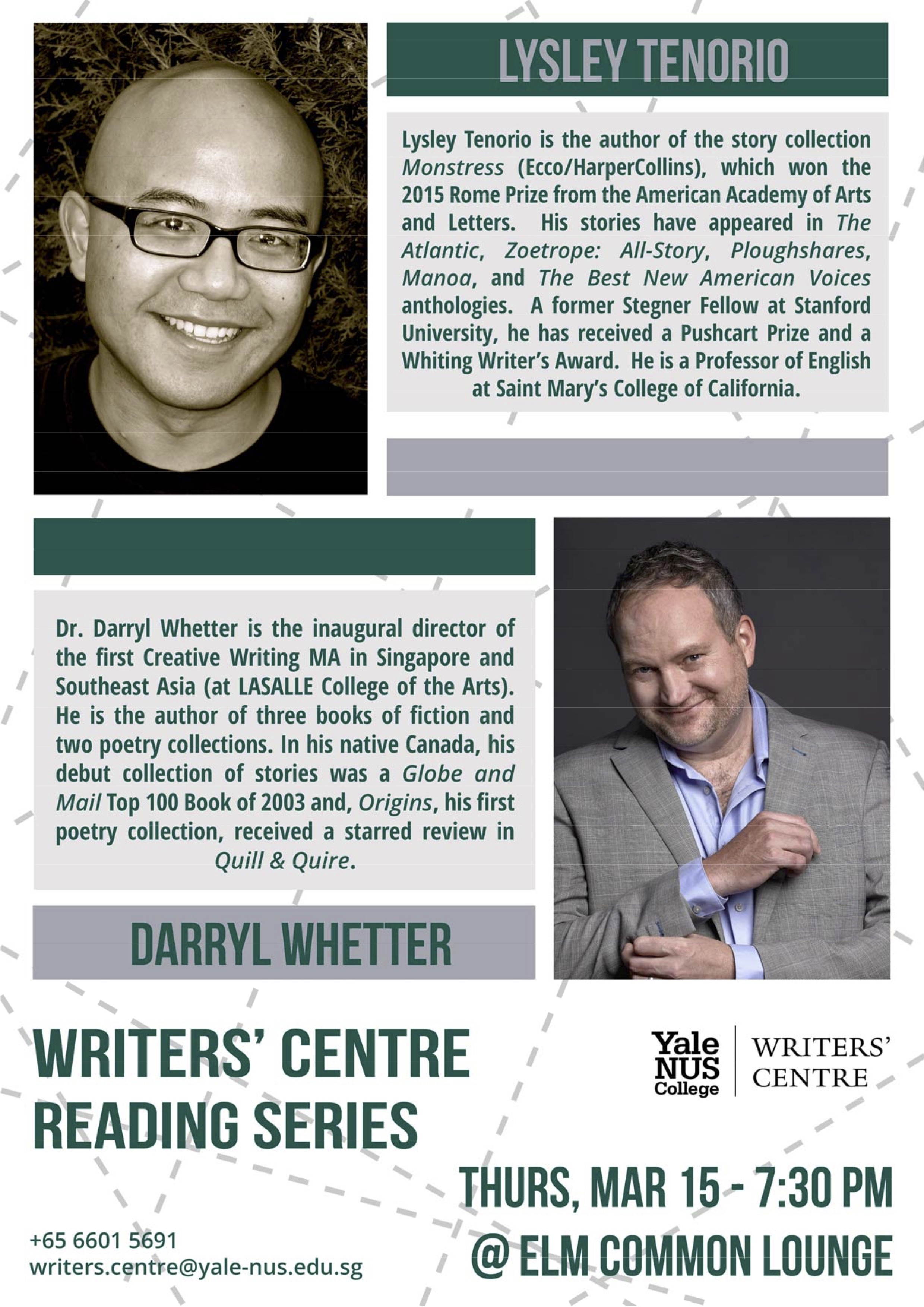 March Reading Sesries - Yale-NUS College Writers' Centre.jpg