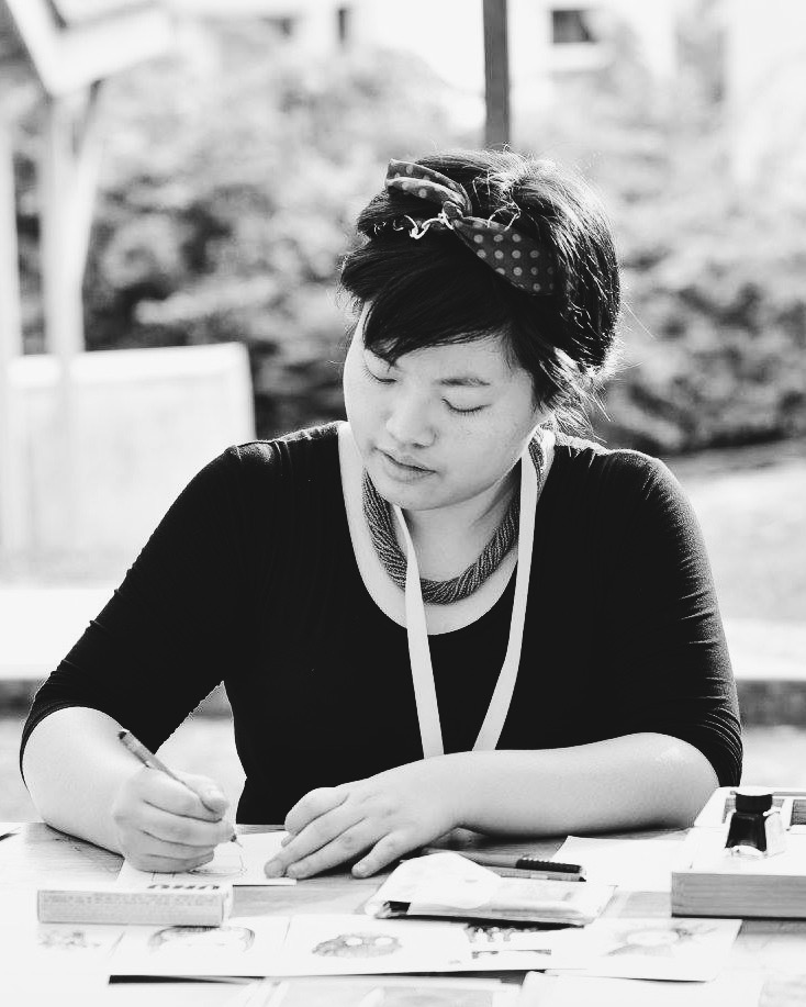 "Annabel Tan's life goals: chaperoning a herd of children without raising her voice, writing a novel on Post-its, and bawling out ""Poisoning Pigeons in the Park"" in all of Singapore's gardens. Annabel was selected for her collection of short stories,  Potted Jungle ."