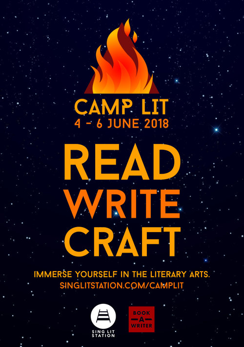 Book A Writer / Our Camp — Sing Lit Station