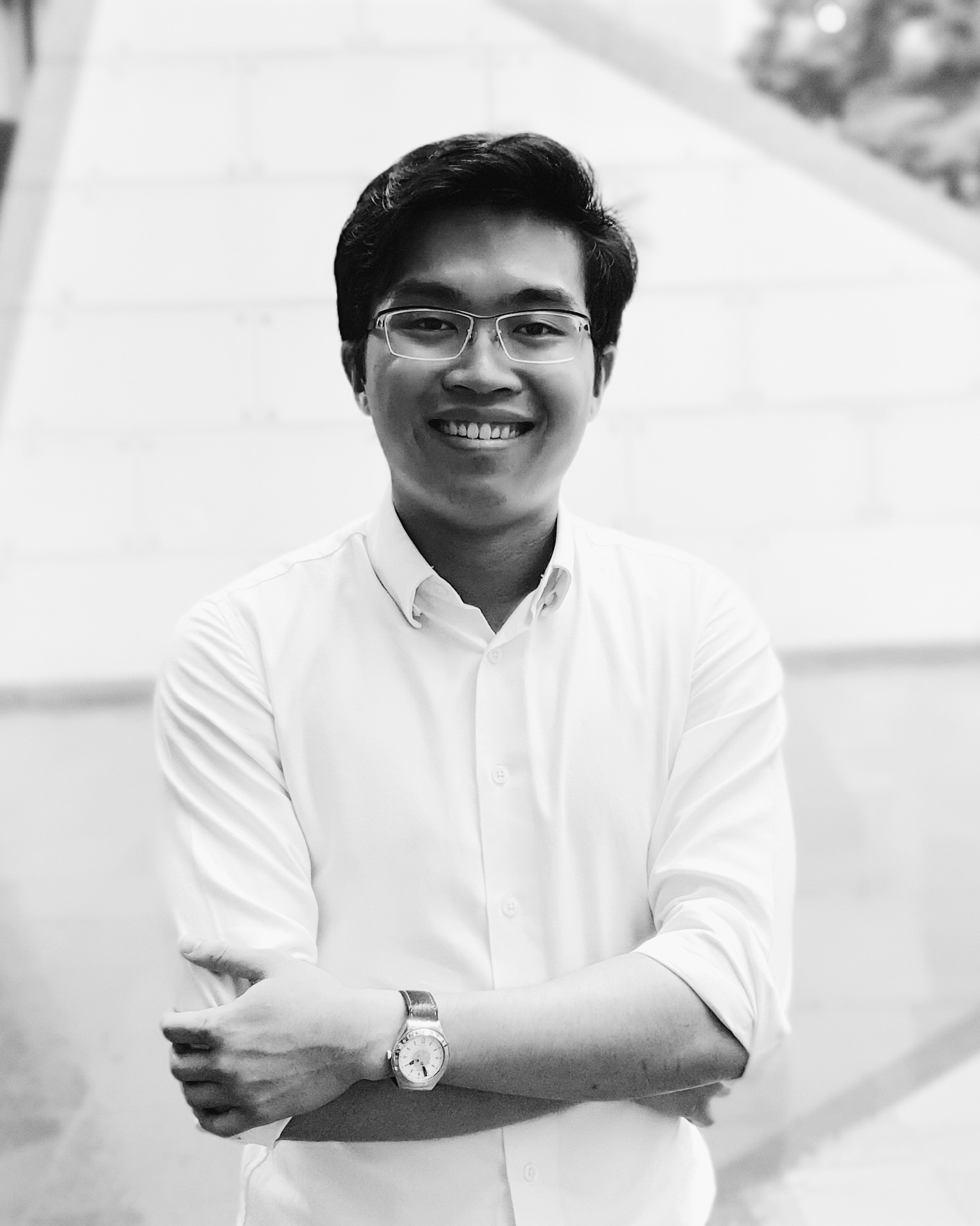 Nicholas Chng studies Law at Singapore Management University. His work has been awarded a Commendation from the Foyle Young Poets of the Year Award, as well as appeared in  Ceriph ,  QLRS ,  Softblow , and the exhibition  MICROCOSMOS  by studioKALEIDO. His manuscript-in-progress is titled  disquiet.