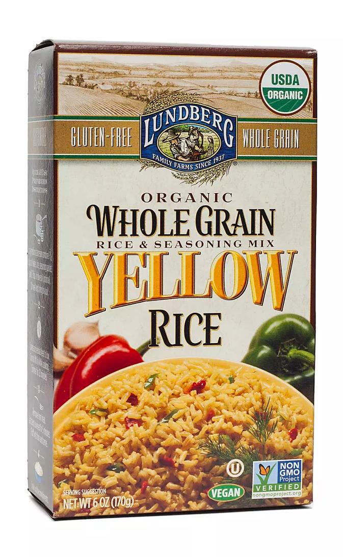 Lundberg Organic Original Whole Grain Yellow Rice