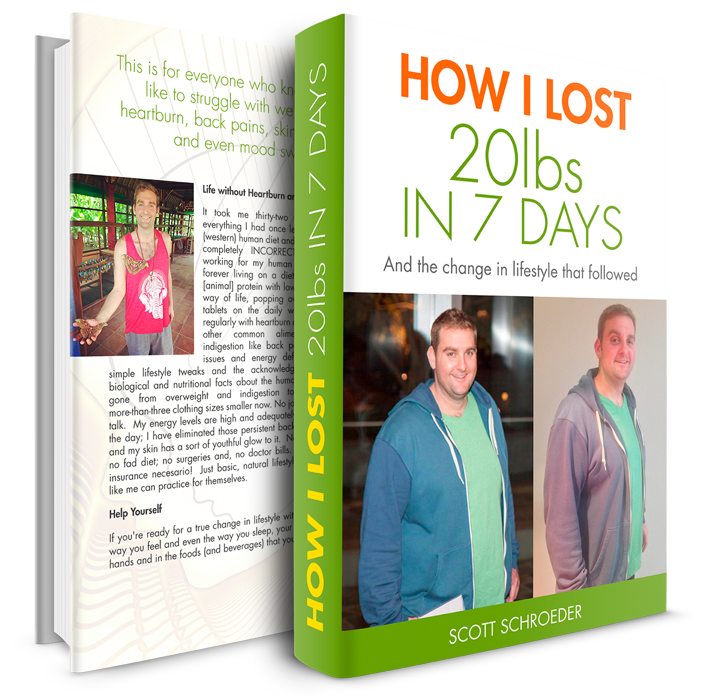 My weight loss story →