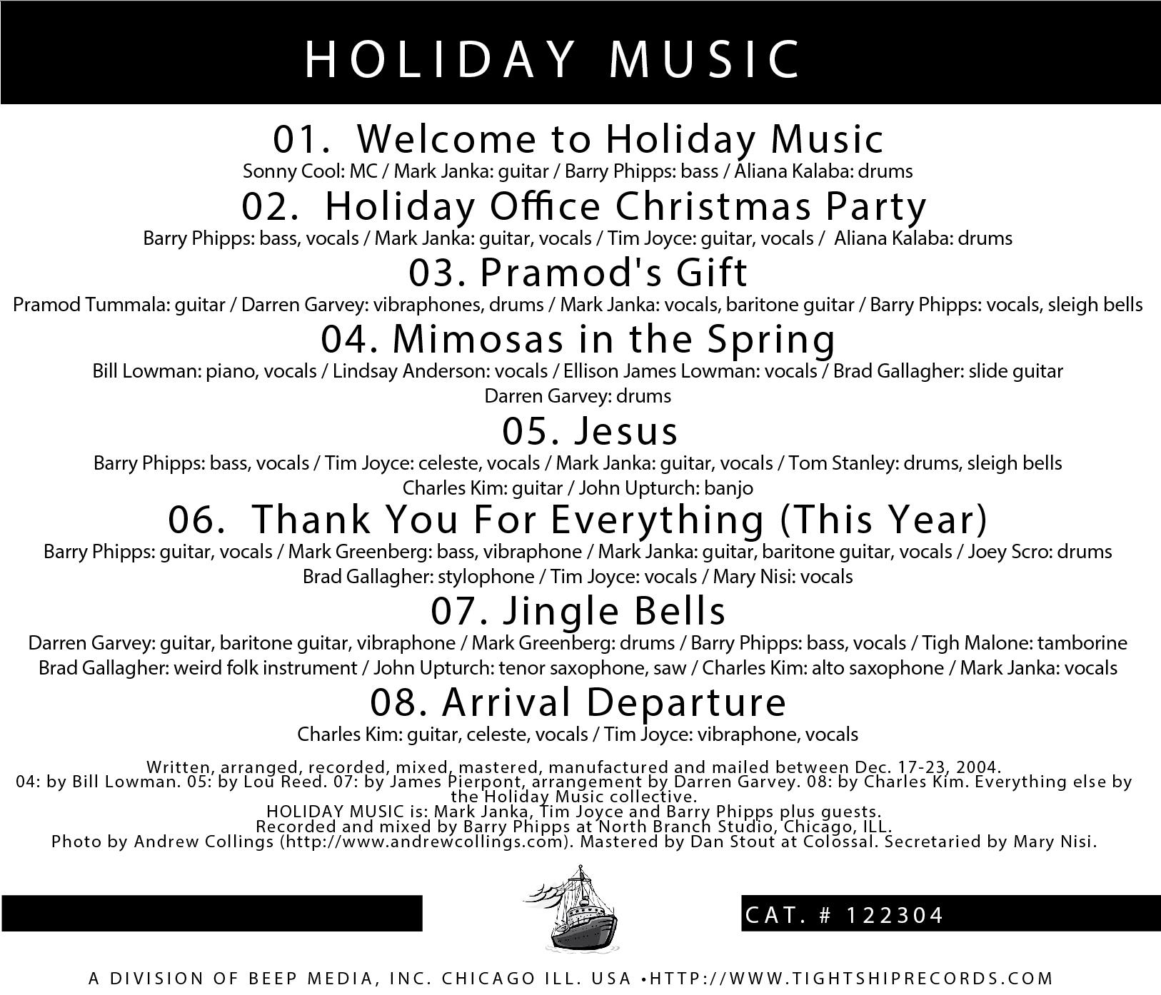 Holiday Music • 2004 back.jpg