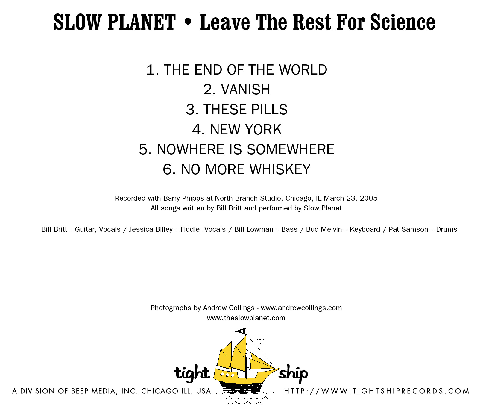 Slow Planet • Leave The Rest For Science.jpg