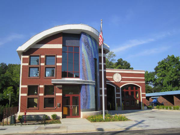 Fire Station 18 after Councilwoman Archibong ensured funding was allocated to rebuild the station.