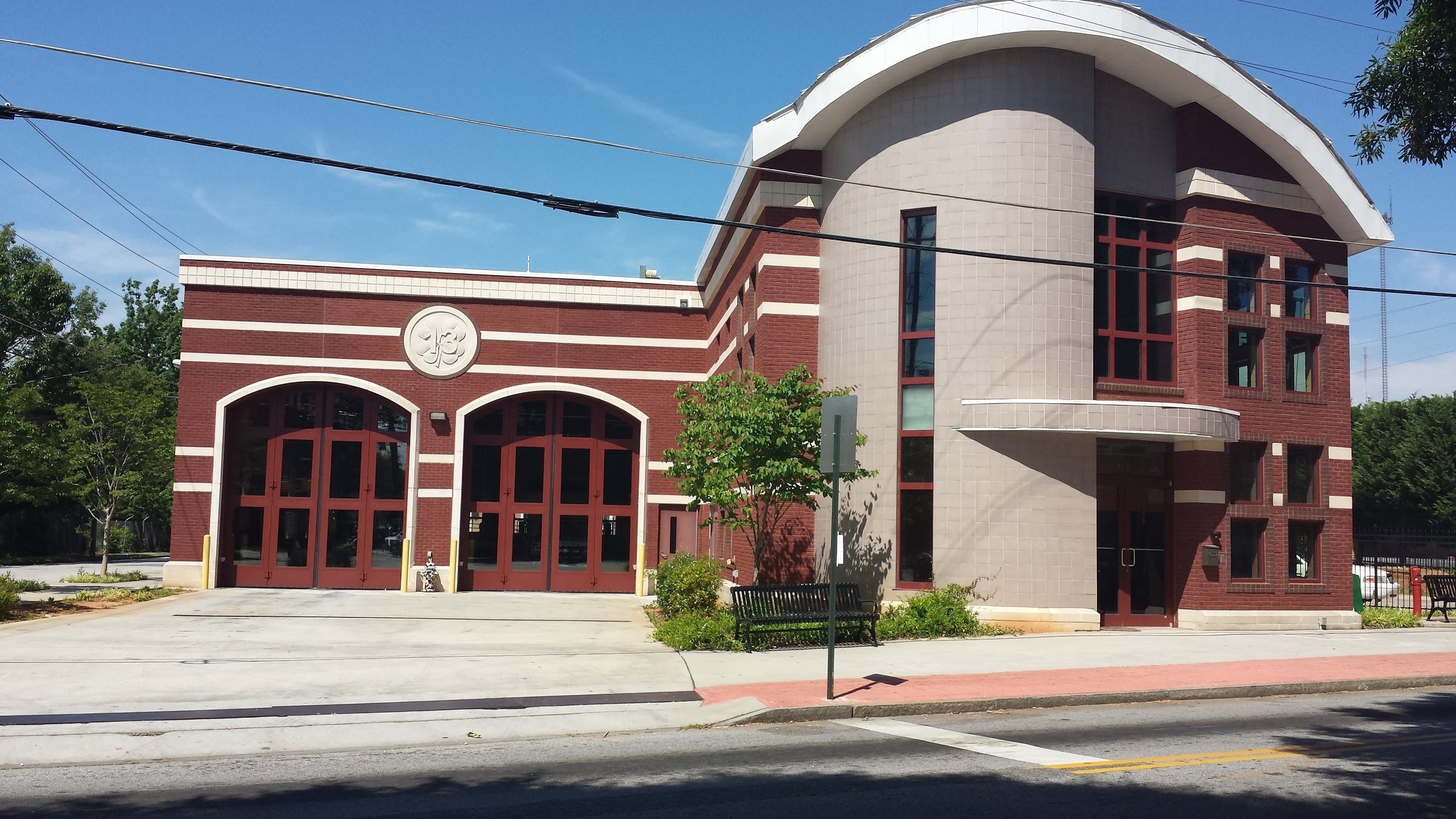 Fire Station 13 after Councilwoman Archibong ensured funding was allocated to rebuild the station.