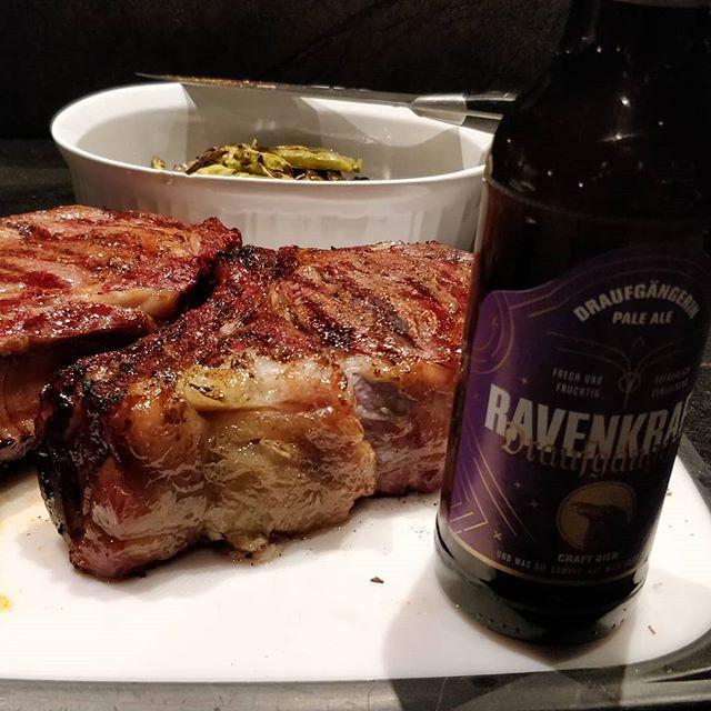 We dream of steak and beer