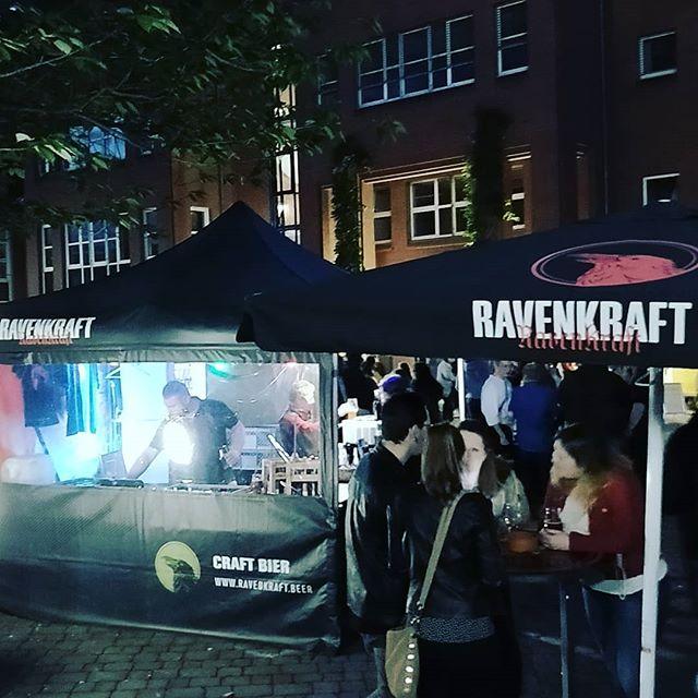 Last night at the Hochschultag Fulda, and the beer must flow! . . . . . . #beer #craftbeer #bierfest #bier #cerveza #pivo #drinkup #ravenkraft #beerporn #beerstagram #beerfest #theraven #gold #goldmedal #grandgold #frankfurt #nuremberg #raven #castle #zausel #germany #deutschland #fulda #hochschule