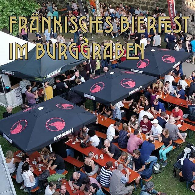 Bierfest Is almost here! Sun, beers and castles, it is @bierzeit.nbg! Come join us! . . . . . . . .  #beer #craftbeer #bierfest #bier #cerveza #pivo #drinkup #ravenkraft #beerporn #beerstagram #beerfest #theraven  #nuremberg #raven #castle #germany #deutschland #fränkischesschweiz #beershop #buylocal #bottleshop
