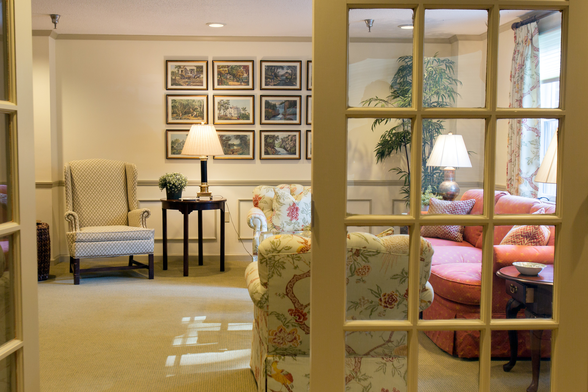 Relaxing Areas At Our Senior Living Community