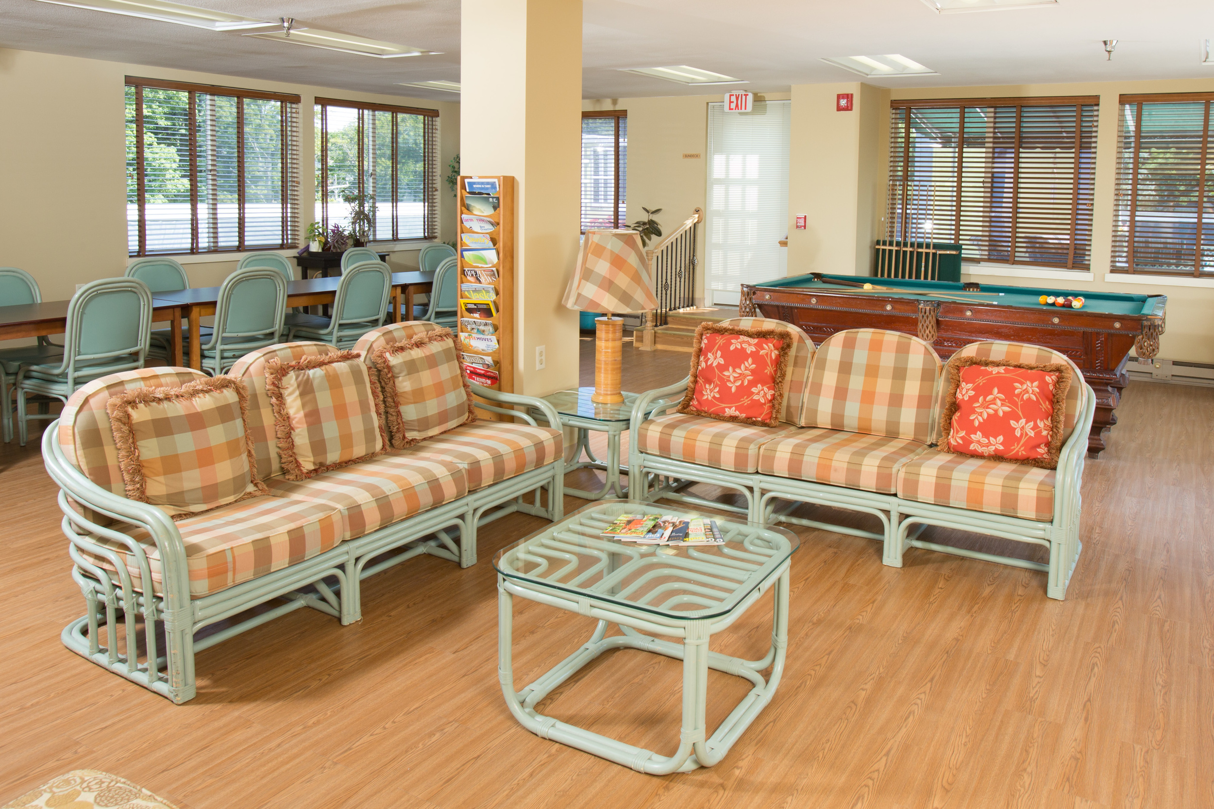 Recreation Room In Our Senior Living Community