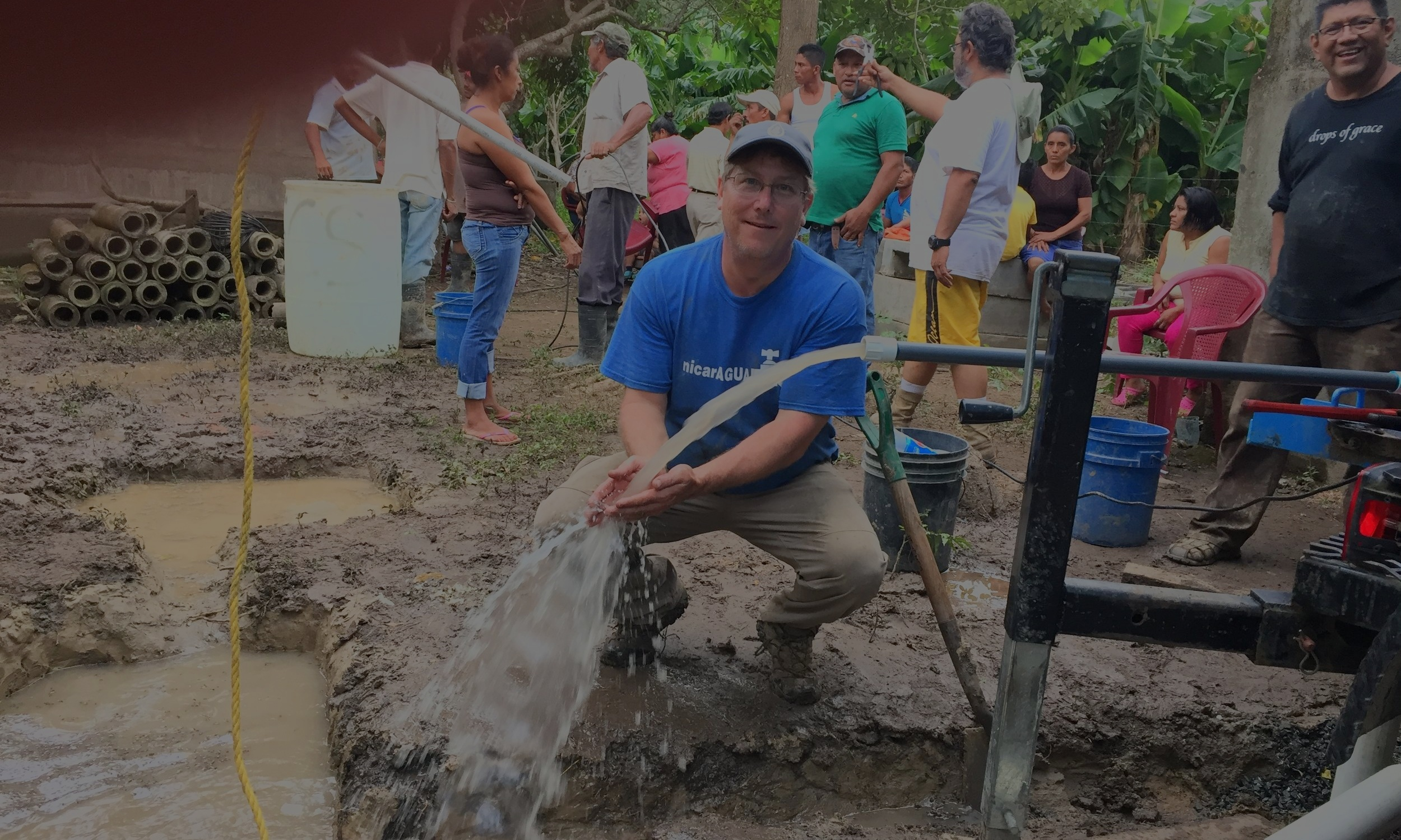 Sponsor a Well - You can help provide a water well that benefits hundreds of families and gives them access to a safe water source in Central America.