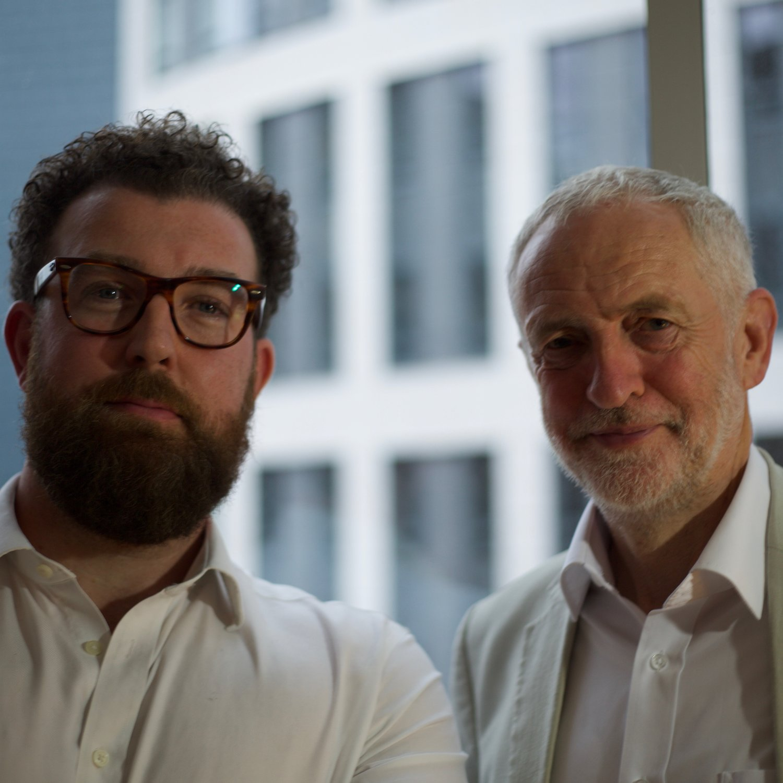 Stephen Rowan (left) and Jeremy Corbyn MP (right)