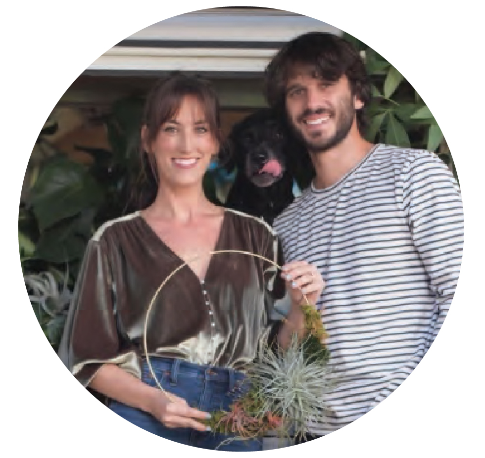 Luna Botanicals - Hi! We are Jeanne & Stephen Luna, a married couple living, crafting and enjoying life currently on Esplanade Avenue in New Orleans. We love to connect with our community through mindful planting sessions & nature infused events. We hope to plant with you soon!