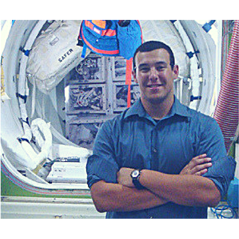 Ernesto Prado at Johnson Space Center