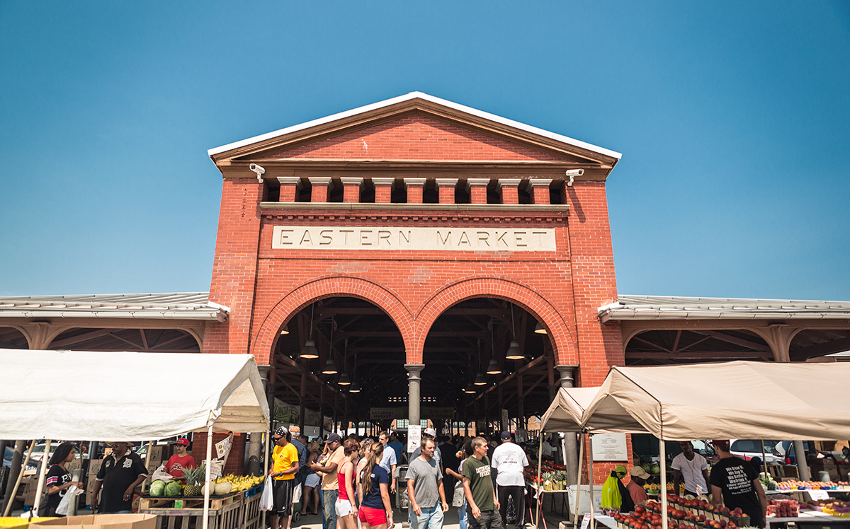 Eastern Market in the Summer (Wikipedia Commons)