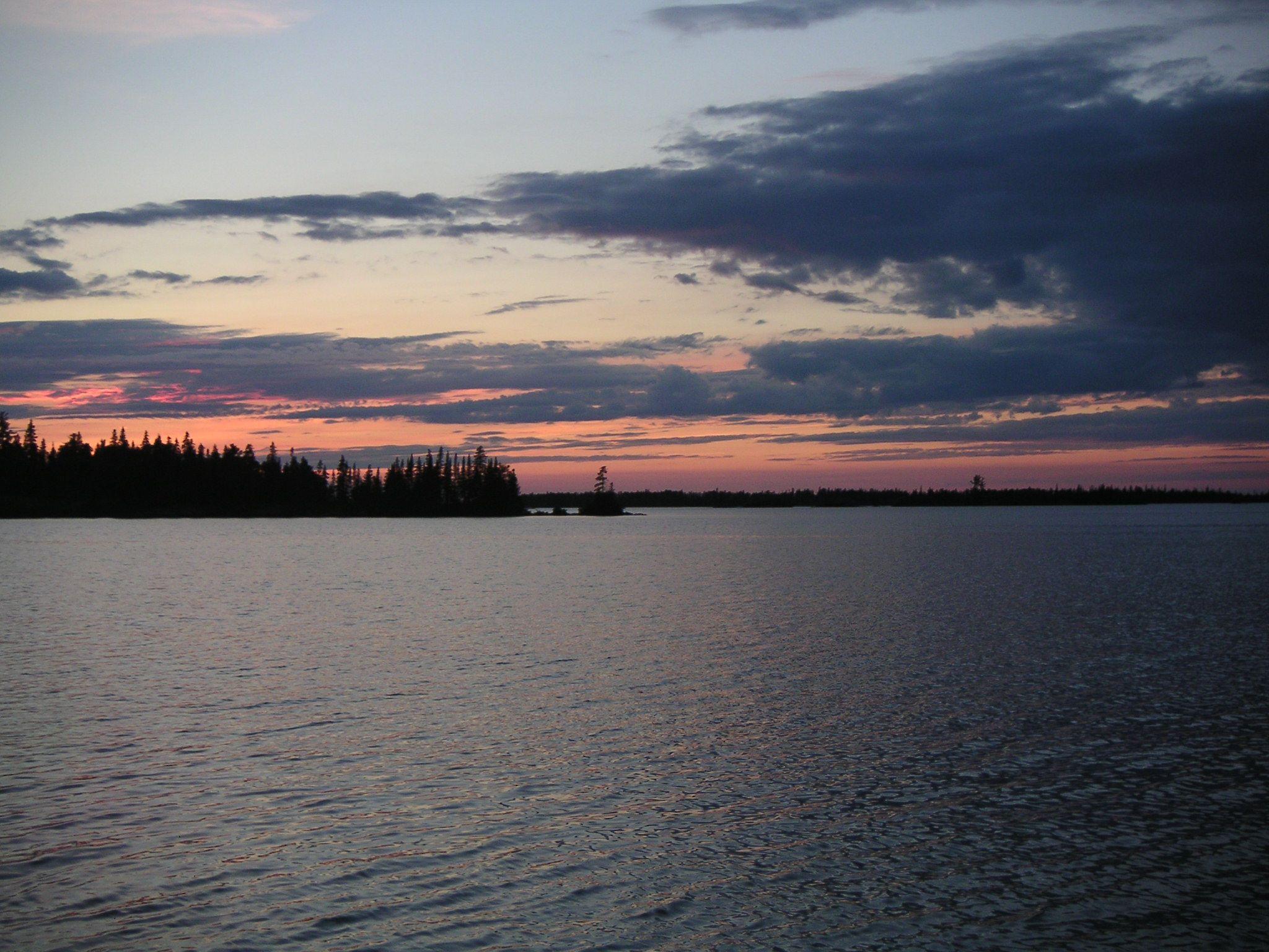 Sunset on Isle Royale
