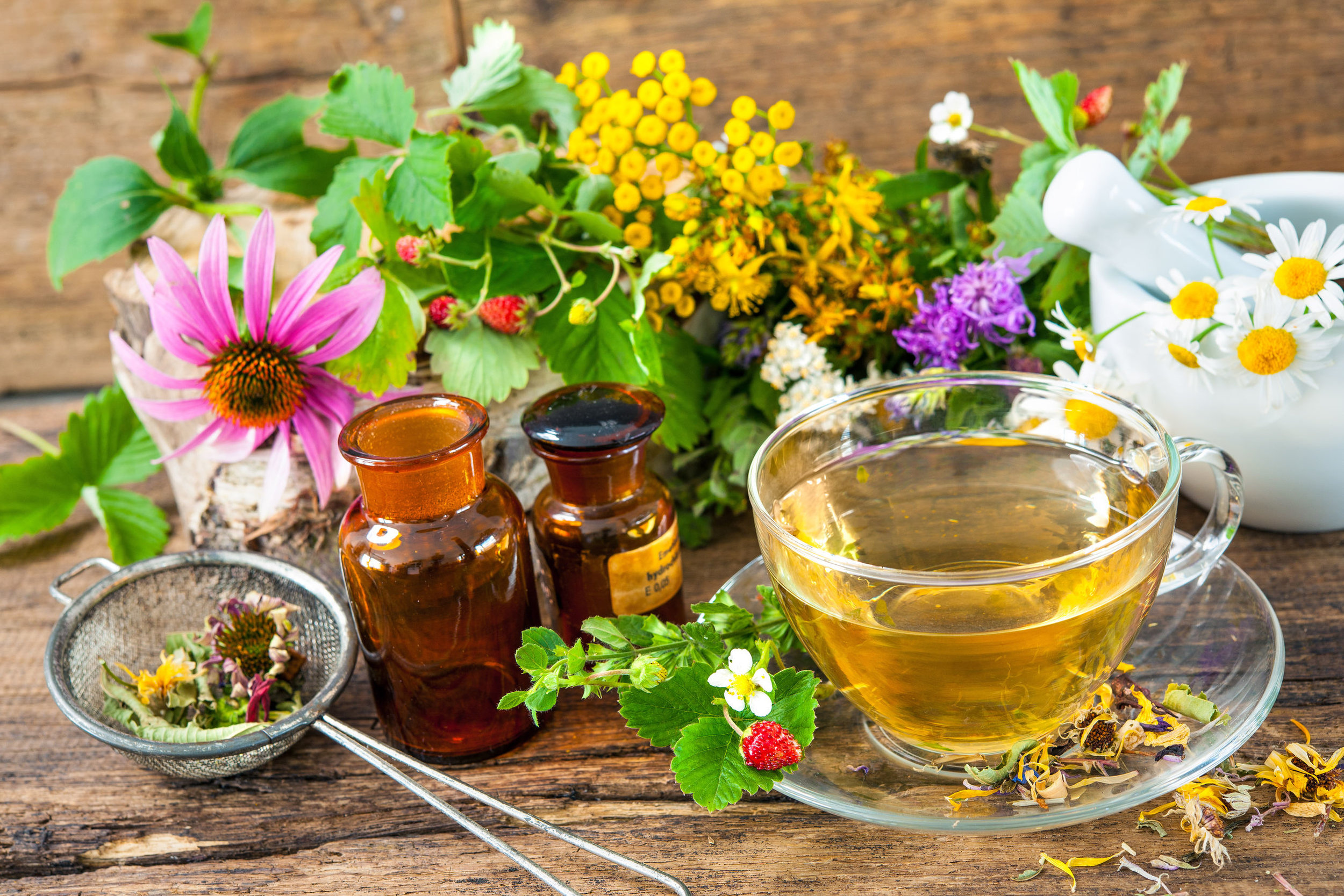 Herbal Tea Tasting at our next New Year Retreat Ireland.