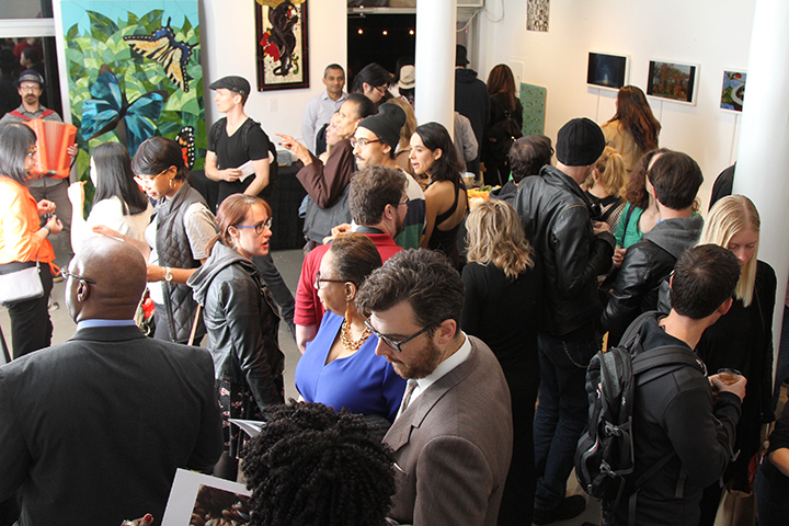 ARTHOUSE.NYC brought together 35 artists to exhibit stunning new work for the 3rd Annual Autumnal Digital Art & Photo Fair, a lively event featuring retro sounds of  The Sunnyside Social Club.