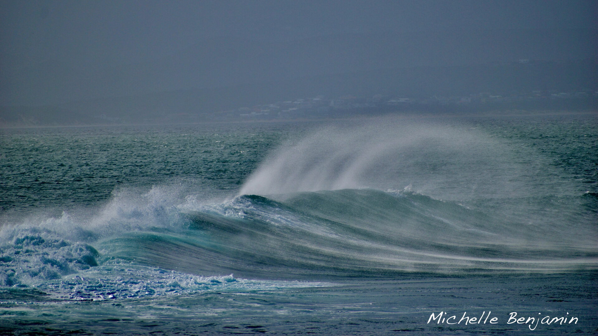 Michelle Benjamin African Wave in Mossel Bay.jpg