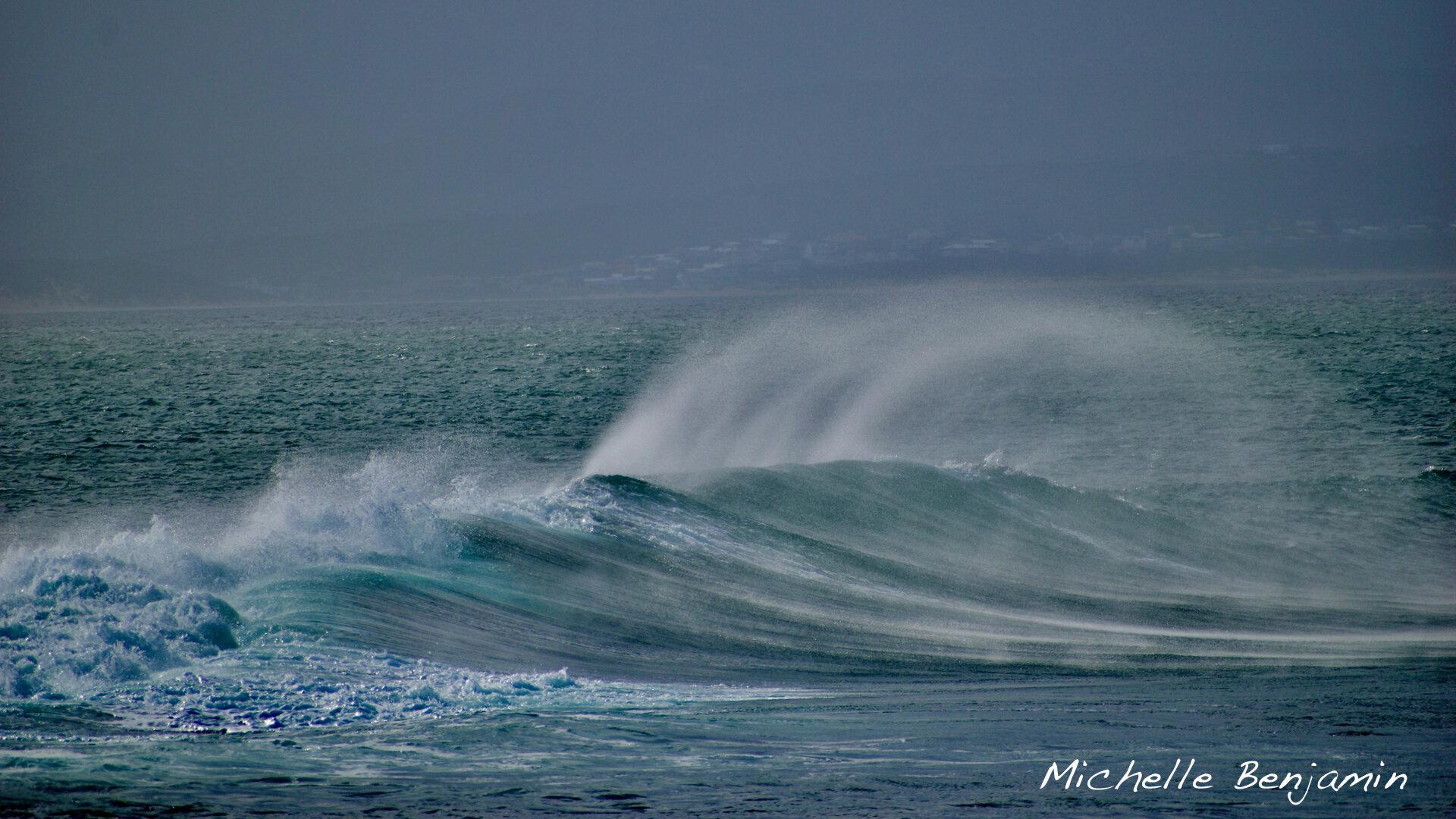 Michelle Benjamin African Wave in Mossel Bay.jpg