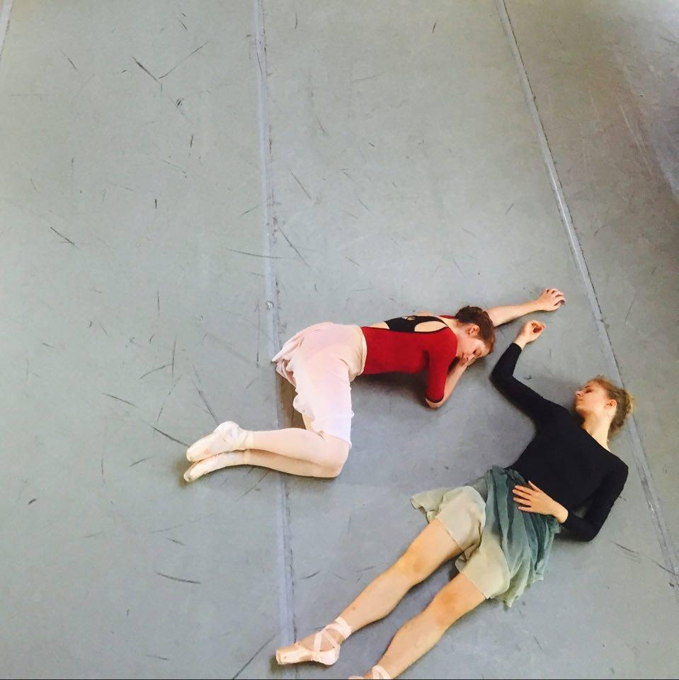 Emma Hawes, National Ballet of Canada & Ida Praetorius, Royal Danish Ballet. Abbey Hall. July 2016