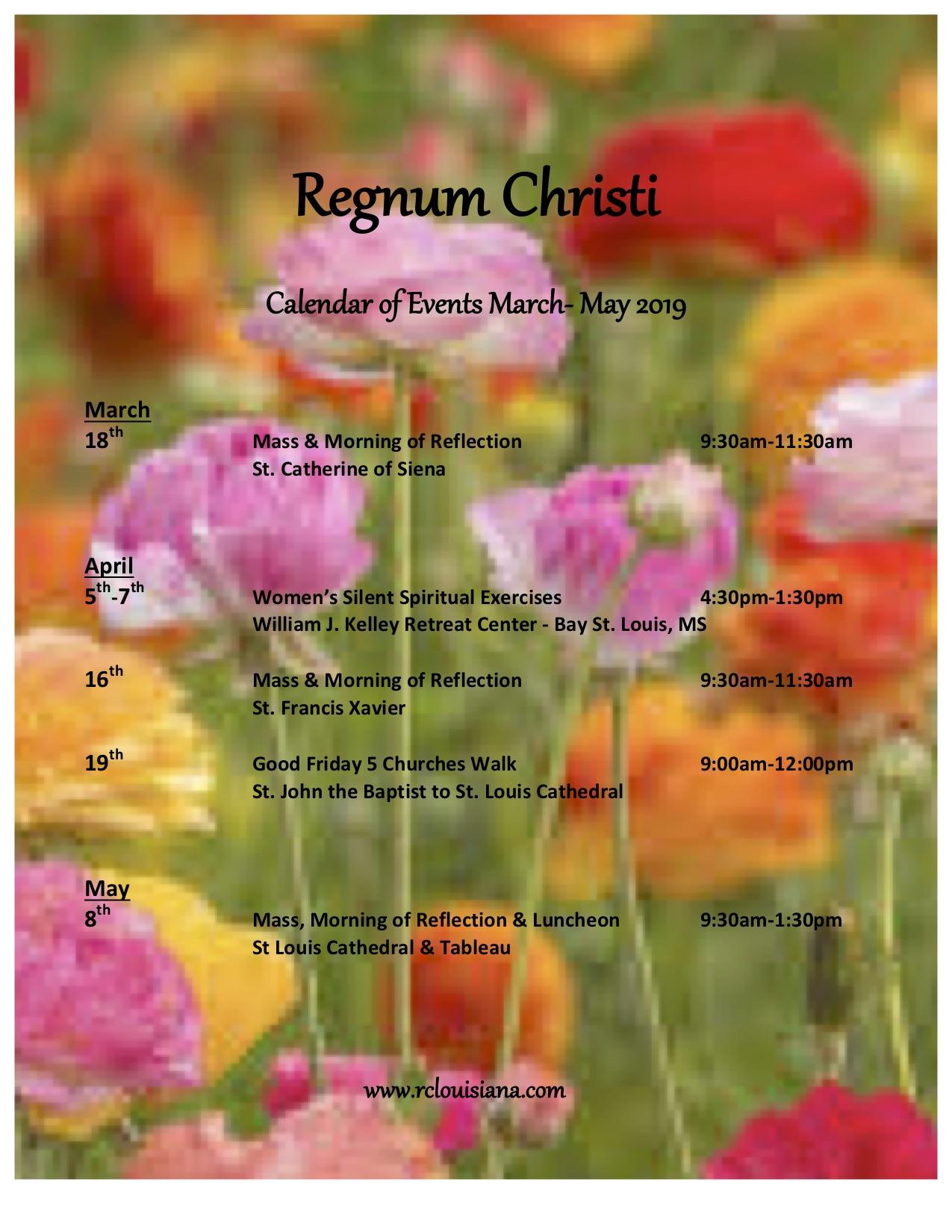 Regnum Christi Calendar March- May 2019.jpg