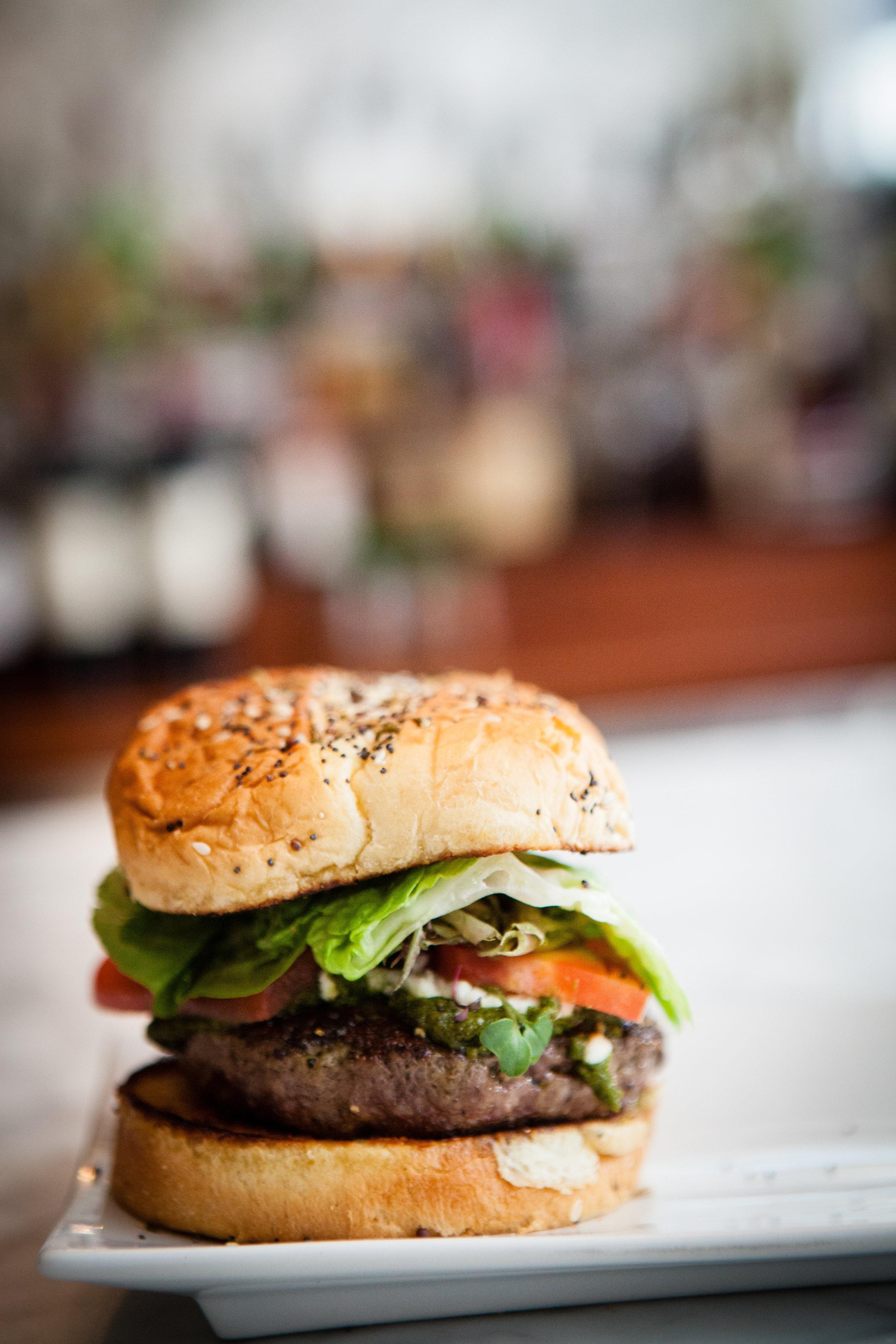 "Le Burger du ""Goat"" - The French Goat"