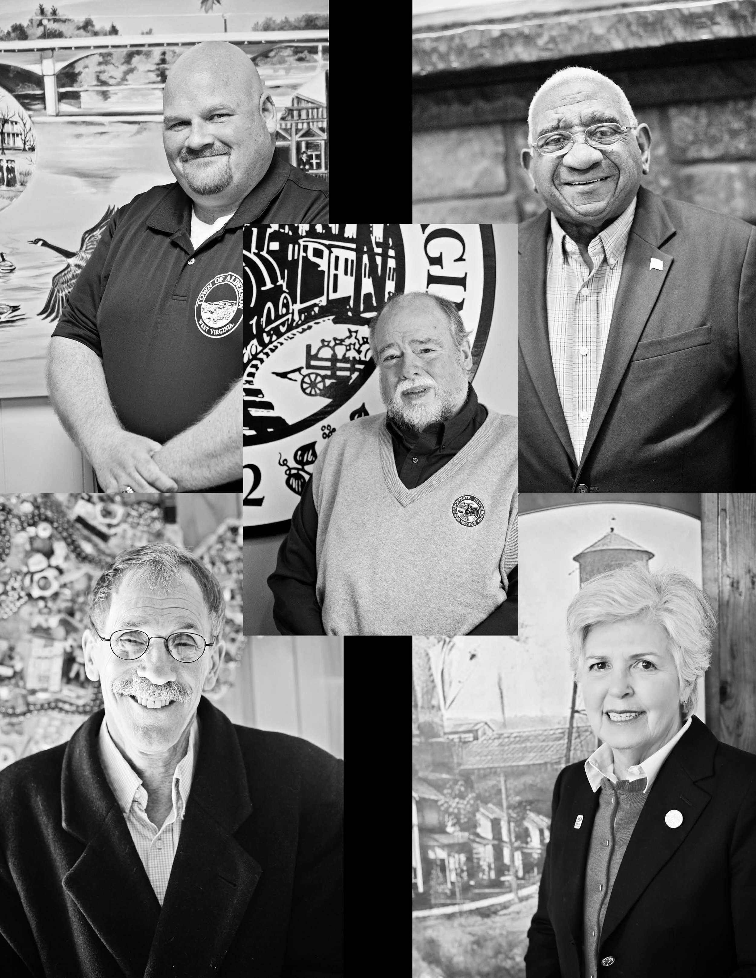 5 - These five mayors throughout Greenbrier and Nicholas Counties worked tirelessly throughout the tragedy and for many weeks after. Their leadership in their own communities have helped sustain and rebuild neighborhoods and downtowns. Whether working directly with the many recovery organizations or fast-tracking municipal business to better respond to their city's immediate needs, these mayors have shown great courage in the face of the devastation and destruction the flood caused.