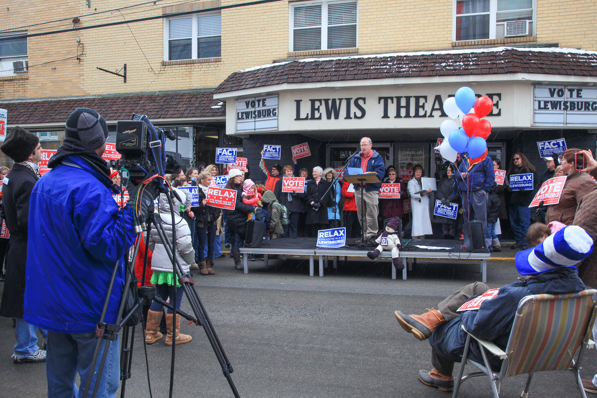 """Campaigning for """"Coolest Small Town"""" recognition in 2011."""