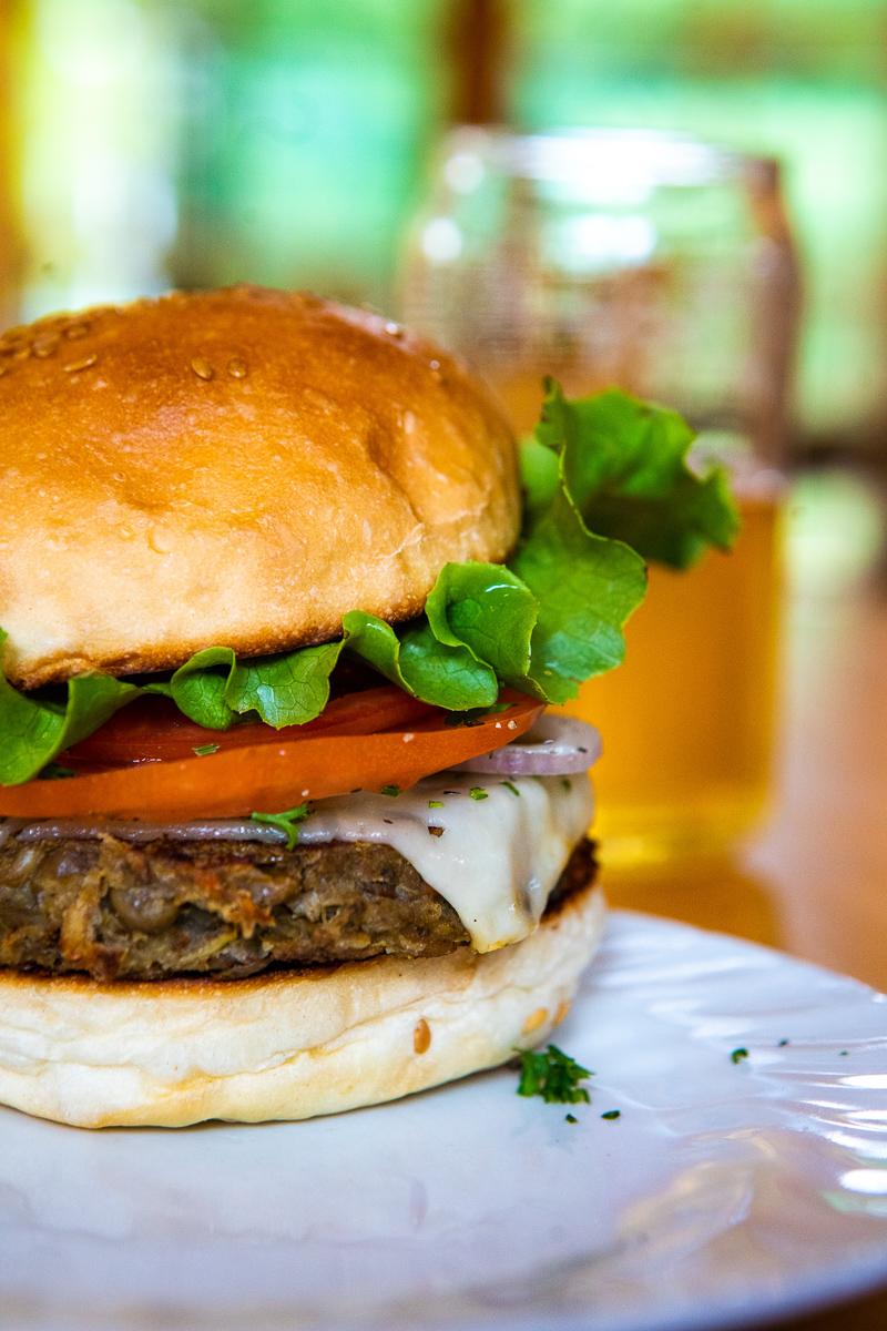No-Bull Veggie Burger