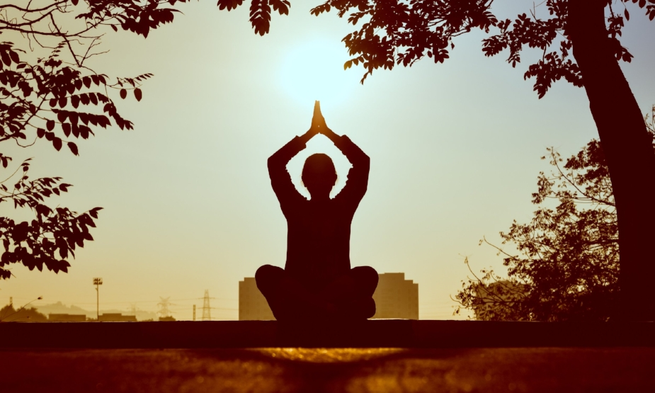 Our body has its own form of meditation, BREATHING.