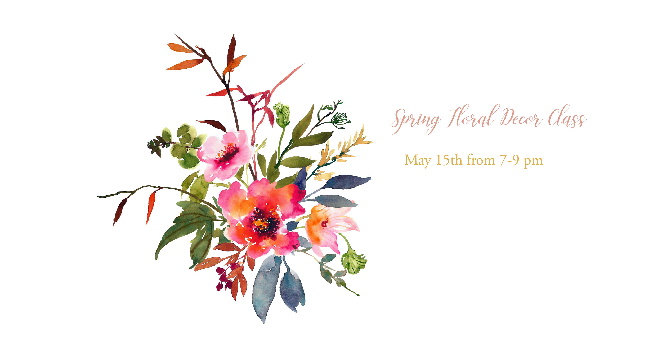 Spring Floral Decor